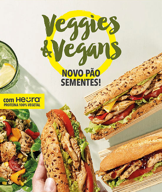 Veggies & Veggans Heura Pans&Company